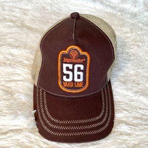 JAGERMEISTER Brown/ Orange Ball Cap